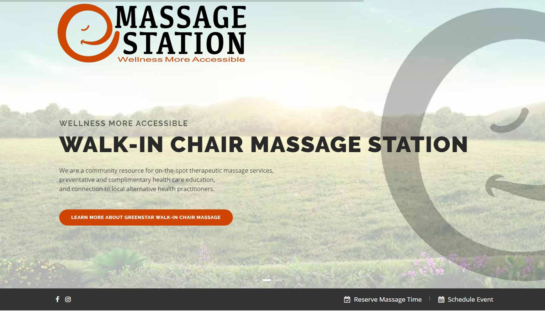 Ithaca Massage Station
