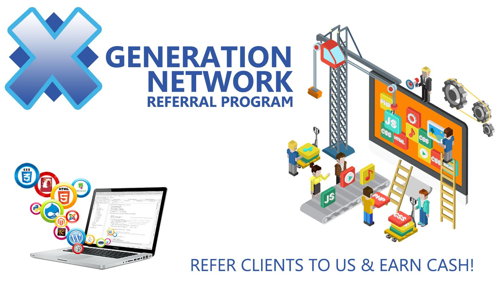 XGeneration Network Referral Program
