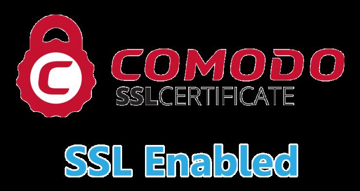 Comodo SSL Enabled